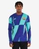 PRE MATCH Barcelona Training Top FC Nike Dri-FIT Man 2019 20 blue green