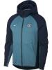 Chelsea Fc Nike Giacca Sportiva Sport Jacket 2018 19 Sportswear Tech Fleece Blu