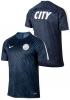 Manchester City Nike Maglia Allenamento Training 2016 17 Pre match Squad Blu