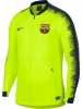 Pre Match Jacket FC Barcelona Nike Anthem Men\'s 2018 19 yellow