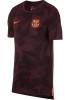 Barcellona Nike Maglia Allenamento Training Dry Tee Match Uefa Amaranto 2017 18