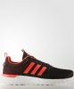 Adidas Scarpe Sneakers Running Sportive Ginnastica Nero arancione Cf Lite Racer