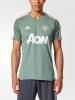 Manchester United Trainingsjersey adidas Original Man 2017 18 Adizero Green
