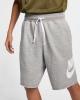 Nike Sportswear Modern ALUMNI Cotton Gray Man Shorts