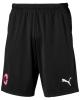 Training shorts AC MILAN Puma with zip pockets 2019 20 Original black