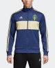SvFF Svezia Adidas Giacca Sportiva sport acket Track Top 3 Stripes Uomo Blu
