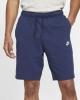 Sports shorts nike sportswear Sportswear CLUB cotton Blue Man