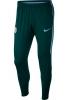 Manchester City Nike Pantaloni tuta Pants 2017 18 Dry squad knit Verde Uomo