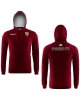 Torino FC Kappa Felpa Cappuccio Hoodie Pullover Argho Amaranto cotone 2017 18