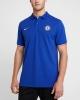 Polo Shirt CHELSEA FC Nike cotton Piquet man 2019 20 Blue