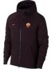 As Roma Nike Giacca Tuta sportiva sport Jacket Amaranto Sportswear Tech Fleece