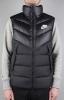 Nike Bomber Piumino jacket Down Fill Windrunner sportswear smanicato gillet