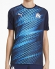 Training shirt Pre Match Top Olympique Marseille Puma Graphic Stadium 2020 Blue man
