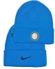 Winter wool hat INTER FC Nike BEANIE Woolie Unisex 2020 21 Light Blue