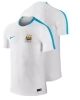 Manchester City Nike Maglia Allenamento Training Bianco 2015 16 Flash Top