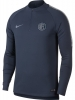 Squad Drill Top Inter fc Nike Felpa Allenamento Training Sweatshirt 2018 19 Blu