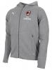 Ac Milan Puma Giacca Sportiva sport Jacket 2018 19 Cappuccio Grigio Cotone