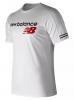 New Balance Athletics Heritage maglia Maglietta T-shirt tempo libero Bianco