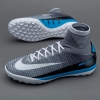 Football Shoes Boots Nike MercurialX Proximo II Dinamic Fit Turf with Sock Gray