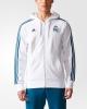 Real Madrid Adidas Giacca Sportiva sports jacket 2017 18 Hoodie 3s Bianco Uomo