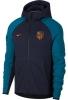 Sportjacke Atletico Madrid Sportbekleidung Nike Tech Fleece Blue Man Kapuzen-Baumwolle