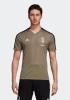 Training Jersey Shirt Top JUVENTUS adidas Beige Original Uomo 2018 19 CLIMACOOL