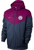 Sports Jacket Manchester City Original Nike Authentic Windrunner Man 2018 blue amaranth