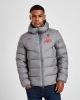 Padded Bomber Jacket LIVERPOOL LFC Nike Down Fill 2020 21 Men Gray