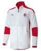 Tracksuit Jacket AC Milan Puma Bench Version BOY White 2020 21 pockets with zip