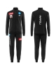 Presentation Tracksuit SSC Naples Kappa ASTERIN 2 2017 18 man carbon