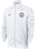 Manchester City Nike Giacca Allenamento Training Bianco Track Top Core 2018