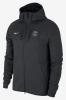 PSG Nike Giacca Allenamento Nero Tech Fleece Windrunner 2017 18 cotone