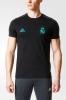 Real Madrid Adidas Maglia Allenamento Training Nero Tee 2017 18 Cotone