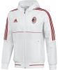 Ac Milan Adidas Giacca rappresentanza 2017 18 Presentation Bianco