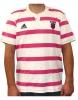 Stade Français Paris Adidas Shirt Rugby Uomo maniche corte Bianco Rosa 2011 12