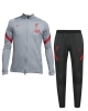 Trainingsanzug Liverpool FC Nike Dry Strike Bank Version Herren 2020 21 Grau Original