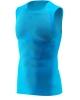 Oxyburn Intimo Tecnico smanicato Azzurro maglia termica 5090 Trax Unisex