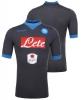 SSC Napoli Kappa Maglia Shirt Match Away KOMBAT™ Grigio maniche corte 2015 16