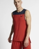Sleeveless Training Vest Shirt Nike Pro Red Men's