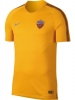 As Roma Nike Maglia Allenamento Training Breathe Squad Top Giallo 2018 19