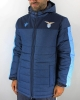 Official padded winter  Long jacket SS LAZIO Macron Version blue men\'s bench 2019 20
