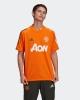 Manchester United MUFC Adidas Maglia Allenamento Training UOMO Arancione 2021