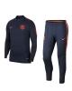 Barcellona Nike Tuta Allenamento Training 2018 Drill Mezza zip Uomo Blu