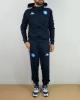 Präsentation Trainingsanzug Napoli Kappa Banda 222 ABEOD Hood Euro UEFA EUROPA LEAGUE Bank Version 2020 21 Mann Blau