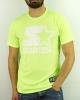 T-Shirt Leisure STARTER Cotton Man LIME FLUO