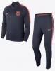 Barcellona Nike Tuta Allenamento Training 2018 Dry Squad Knit Versione Panchina
