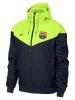 Sportjacke Nike Barcelona Authentic Windrunner Herren 2018 19 Blau Gelb Original