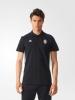 3 Stripes Juventus Adidas Polo Maglia Nero maniche corte Uomo 2016 17