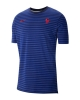 Francia Nike T-shirt tempo libero 2020 UOMO Blu cotone sportswear lifestyle