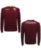 Torino Turin Kappa Felpa Allenamento Training Sweatshirt Amaranto 2017 18